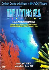 THE LIVING SEA: ORIGINAL IMAX THEATER MOVIE Featuring Music by STING (DVD, 2000)
