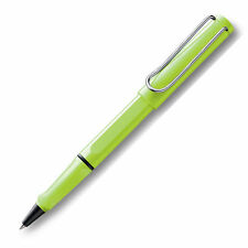 LAMY SAFARI  SPECIAL EDITION NEON LIME  ROLLERBALL  PEN NEW IN BOX 343