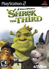 Shrek The Third PS2 Playstation 2 Game Complete