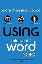 Using Microsoft Word 2010-ExLibrary