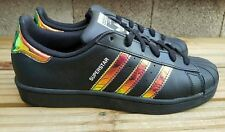 ADIDAS SUPERSTAR IRIDESCENT TRAINERS SIZE 4 UK EVERYWHERE SOLD OUT EXCELLENT