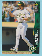 1996 Upper Deck Collector's Choice Mark McGwire Oakland Athletics A's #640 (WDC)