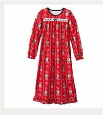 Disney Minnie Mouse Nightgown Pajama Pj Night Dress Girls Clothes Size 6