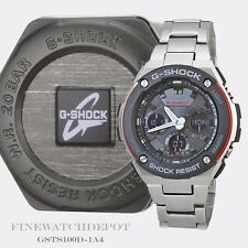 Authentic Casio G-Shock Men's  Layered Toughness Watch GSTS100D-1A4