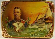 Antike seltene Zigarettendose Prinz Heinrich 1WK um 1915