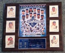 2015 Kansas City Royals  World Series Champs  6 card with custom engraving