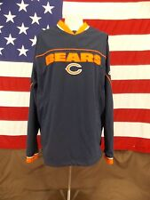 Chicago Bears NFL Reebok Outerwear Jacket Pull Over Men's Size See Measurements