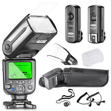 Neewer NW-565C Professional E-TTL Slave Flash Kit for Canon Rebel T5i T4i T3i T3