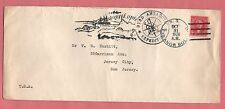 1928 BYRD ANTARCTIC EXPEDITION COVER SHIP CANCEL SS ELEANOR BOLLING TO USA