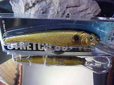 Mann's (NEW)Textured Stretch 30+ BIGFISH Trolling Lure T30-40 in GOLD/BLACK