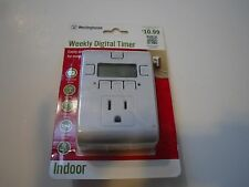 New ! Westinghouse Weekly Digital Timer Indoor only  for 120V T28442
