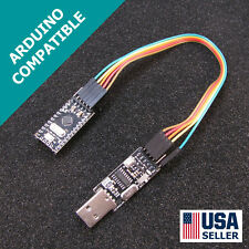 Arduino Pro Mini Pro & USB Programmer Newest Design FAST Shipping USA Seller X05