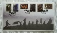 New Zealand Stamps, First Day Cover - Lord of the Rings/TFOTR - dated 4/12/2001