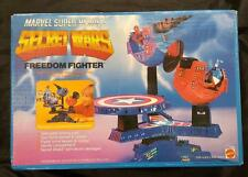 Marvel Secret Wars - Freedom Fighter Play Set - New In Box - 1984