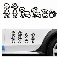 Funny Family Member Car Sticker Decal Decoration Vinyl Art For Wall Removable