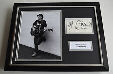 Fran Healy SIGNED FRAMED Travis Photo Autograph 16x12 display Music AFTAL & COA