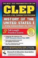 CLEP History of the United States I (REA)- The Best Test Prep for the CLEP Exam