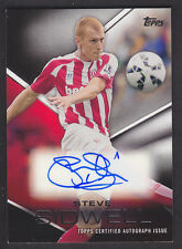 Topps Premier Gold 2014 - Autograph Card - Steve Sidwell - Stoke