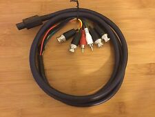 SNES csync BNC and RCA cable - Pro Coaxial Multicore for PVM monitor