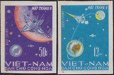 VIETNAM du NORD N°508/509** Non dentelés1963 Espace Viet Nam Imperf Space 429-30