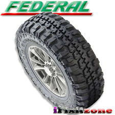 1pc Federal Couragia M/T 33X12.50R20 Mud Tires LT 33X12.50X20 10 Ply 114Q NEW