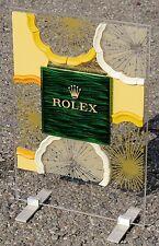 Alzata verticale bifacciale ROLEX ORIGINALE 61x40 cm. come nuova x vetrina
