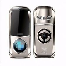 Fashion 760 Unlock cell phone Quad Band Dual SIM luxury car model silver black