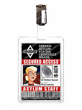 Batman Animated Arkham Harleen Quinzel Staff ID Badge Cosplay Costume Christmas