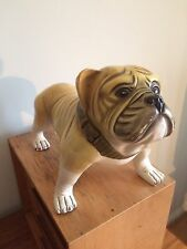 Superb Pottery Vintage British Bulldog Retro Man Cave