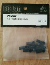 Rclab 7even 4.3 plastic ball ends vintage on road 1/10th drift rc lab