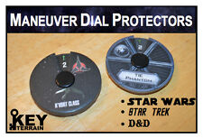 Dial Protectors: X-Wing Miniatures Game, Star Trek, D&D Attack Wing (Sheet of 3)