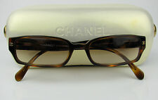 CHANEL 5058B Auth Brown Sunglasses Swarovski Crystals CC Logo Made in Italy