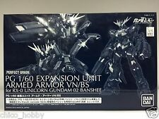 Premium Bandai PG Expansion Unit Armed Armor VN/BS RX-0 Unicorn Gundam 2 Banshee