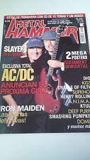 """REVISTA """"METAL HAMMER NUMERO 149"""" EN MUY BUEN ESTADO AC/DC"""