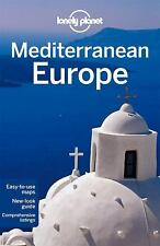 Lonely Planet Mediterranean Europe (Multi Country Travel Guide)-ExLibrary