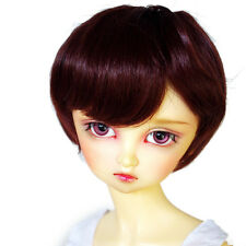 "[wamami] 97# Brown Short Wig For 1/4 MSD AOD DOD DZ BJD Dollfie 7-8"" inch"