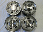 FORD FALCON 5 SLOT RIM SET OF 4 SUIT XR XT XW XY GT HO GS SMALL CENTRE 14 X 6