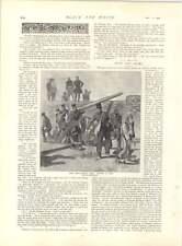 1897 Turku griego guerra la batalla de Liguria vuelo de Larissa fortificadas una pistola