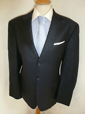 MENS ERMENEGILDO ZEGNA NAVY AUTUMN FALL BUSINESS SUIT JACKET 40 WAIST 34 LEG 29