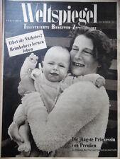 WELTSPIEGEL 34 - 1950 Prinz Louis Ferdinand & Familie Tibet Berlin Mode + Radio