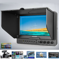 "Lilliput 665/S/P 7"" Broadcast Field Camera HDMI SDI Monitor For RED SCARLET 6K"