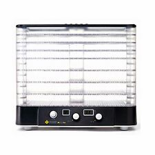 NEW LEQUIP Food Dehydrator LD-918TH Multi Food Dryer 220V Clear Tray 8 Layers