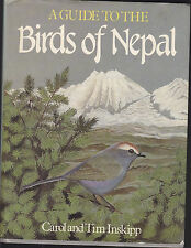 CAROL & TIM INSKIPP  A GUIDE TO THE BIRDS OF NEPAL