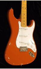 NEW VINTAGE V6MFR FIRENZA RED WITH MAPLE FRETBOARD STRAT GUITAR CASE AVAILABLE