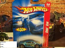 HOT WHEELS 2007 #108 -180-1 MITSUBISHI ECLIPSE CONCEPT CAR BLU AMER