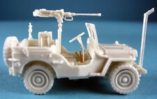 Milicast BA30 1/76 Resin WWII US Jeep (radio/recee)