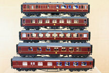 COMET KIT BUILT RAKE of 5 LMS MERSEYSIDE EXPRESS COACH by GRAHAM VARLEY GODDARD