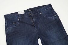 Nuevo-Hugo Boss Black Label-Columbia w33 l32 Dark denim stretch jeans 33/32