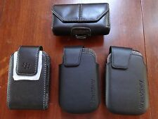 ~ LOT OF4 ~ NEW  Phone Case W/SWIVEL Clip  Pouch For Blackberry