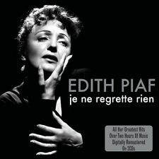 Edith Piaf JE NE REGRETTE RIEN Best Of 45 Songs ESSENTIAL Remastered NEW 2 CD